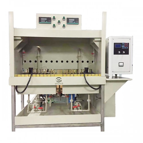 High efficiency gold electrolytic unit