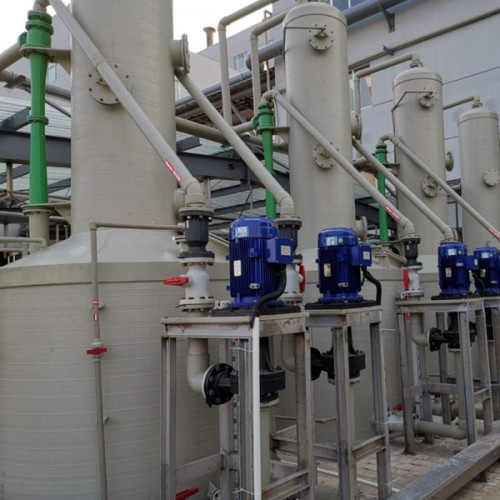 NOx waste gas treatment equipment